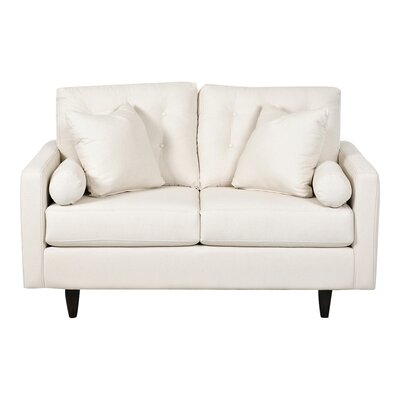 Harper Loveseat Body Fabric: Bull Natural