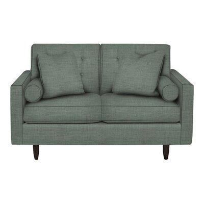 Harper Loveseat Body Fabric: Lizzy Surf