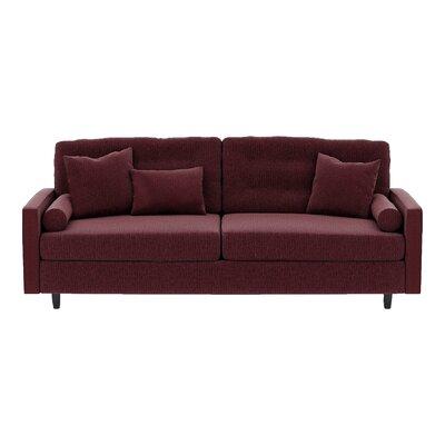 Harper Sofa Body Fabric: Pebble Berrycrush