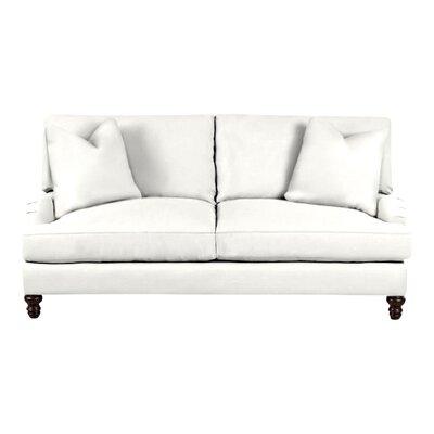 Delphine Sofa Body Fabric: Classic Bleach White