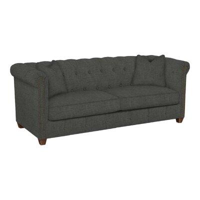Josephine Tufted Sofa Body Fabric: Lizzy Graphite