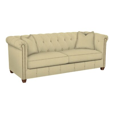 Josephine Tufted Sofa Body Fabric: Lizzy Linen