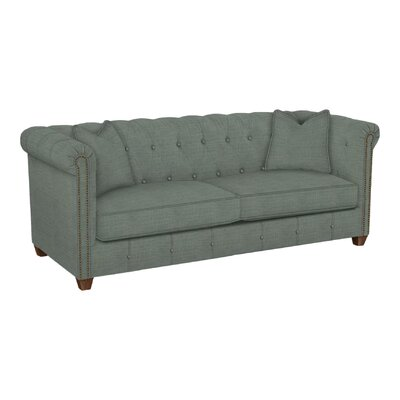 Josephine Tufted Sofa Body Fabric: Lizzy Surf