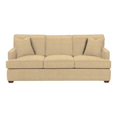 Avery Sofa Body Fabric: Trillion Saffron, Pillow Fabric: Trillion Saffron