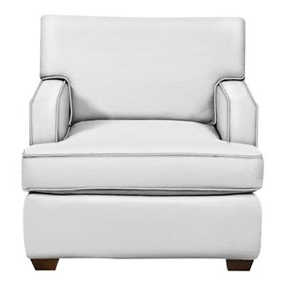 Avery Arm Chair Body Fabric: Classic Bleach White