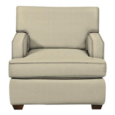Avery Arm Chair Body Fabric: Hilo Flax