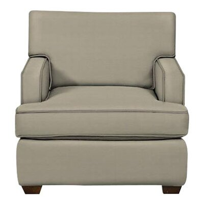 Avery Arm Chair Body Fabric: Hilo Seagull