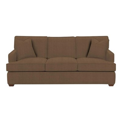 Avery Sofa Body Fabric: Hilo Rattan, Pillow Fabric: Hilo Rattan