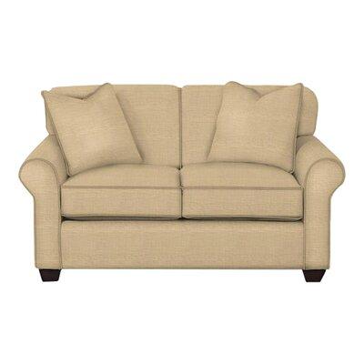 Jennifer Loveseat Body Fabric: Trillion Saffron, Pillow Fabric: Trillion Saffron