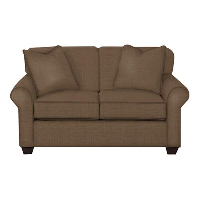 Jennifer Loveseat Body Fabric: Hilo Rattan, Pillow Fabric: Hilo Rattan