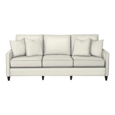 Spencer Sofa Body Fabric: Classic Bleach White