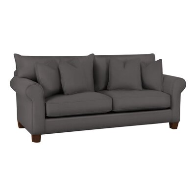 Natalie Sofa Body Fabric: Ranger Twill Mink
