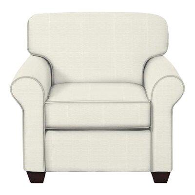 Jennifer Arm Chair Upholstery: Classic Bleach White