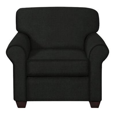 Jennifer Arm Chair Upholstery: Hilo Graphite