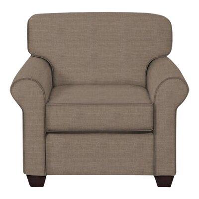 Jennifer Arm Chair Upholstery: Lizzy Hemp