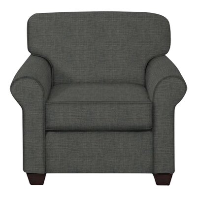 Jennifer Arm Chair Upholstery: Lizzy Graphite