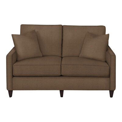 Spencer Loveseat Body Fabric: Hilo Rattan, Pillow Fabric: Hilo Rattan