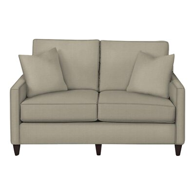 Spencer Loveseat Body Fabric: Hilo Seagull, Pillow Fabric: Hilo Seagull