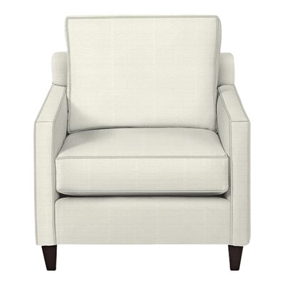 Spencer Arm Chair Body Fabric: Classic Bleach White