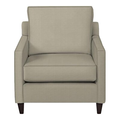 Spencer Arm Chair Body Fabric: Hilo Seagull