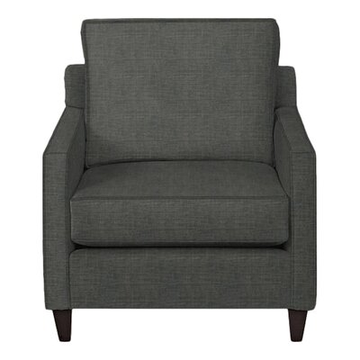 Spencer Arm Chair Body Fabric: Lizzy Graphite