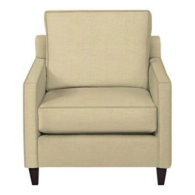 Spencer Arm Chair Body Fabric: Lizzy Linen