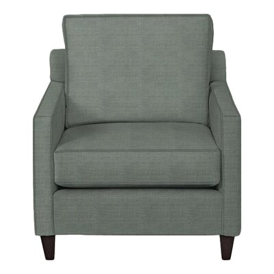 Spencer Arm Chair Body Fabric: Lizzy Surf