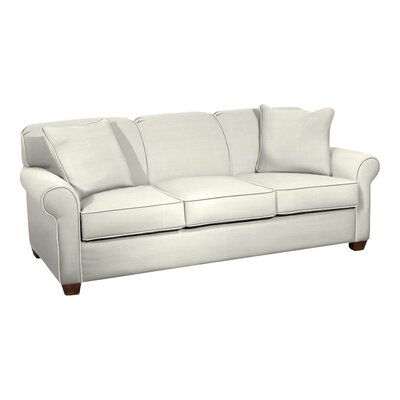 Jennifer Sofa Body Fabric: Classic Bleach White, Pillow Fabric: Classic Bleach White