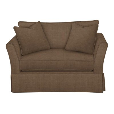 Shelby Chair and a Half Body Fabric: Hilo Rattan, Pillow Fabric: Hilo Rattan