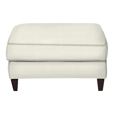Spencer Ottoman Body Fabric: Classic Bleach White