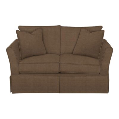 Shelby Loveseat Body Fabric: Hilo Rattan, Pillow Fabric: Hilo Rattan