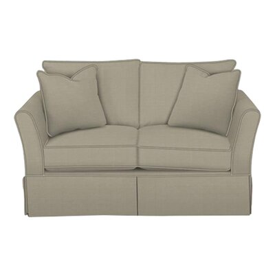 Shelby Loveseat Body Fabric: Hilo Seagull, Pillow Fabric: Hilo Seagull