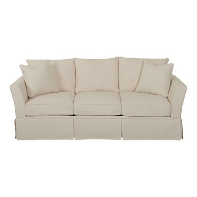 Shelby Sofa Body Fabric: Bull Natural, Pillow Fabric: Bull Natural