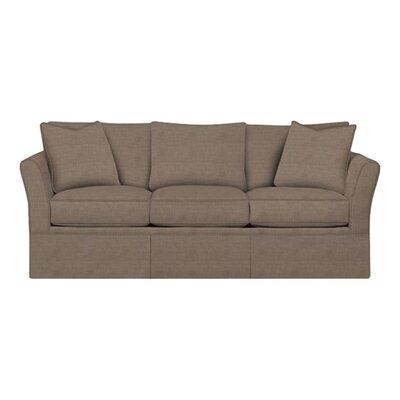 Shelby Sofa Body Fabric: Lizzy Hemp, Pillow Fabric: Lizzy Hemp