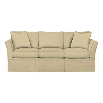 Shelby Sofa Body Fabric: Lizzy Linen, Pillow Fabric: Lizzy Linen