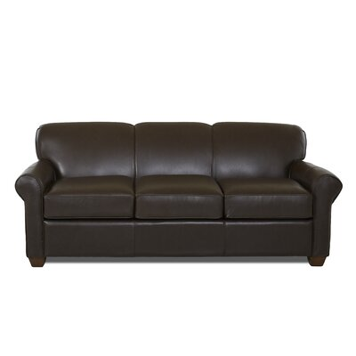 Jennifer Leather Sleeper Sofa Body Fabric: Durango Espresso, Leather Application: Leather Top