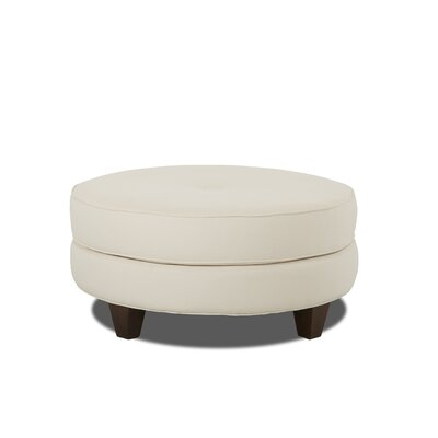 James Cocktail Ottoman Body Fabric: Classic Khaki