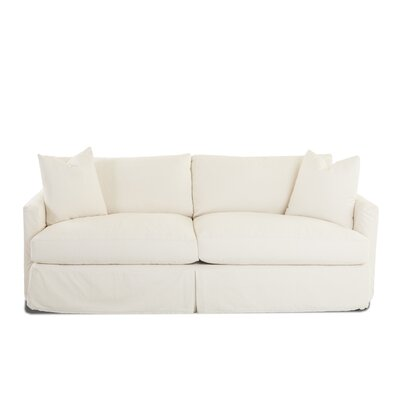 Madison XL Slipcovered Sofa Body Fabric: Bull Natural, Pillow Fabric: Bull Natural