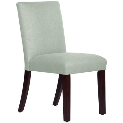 Connery Parsons Chair Body Fabric: Linen Swedish Blue