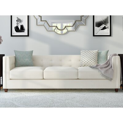 Jessica Sofa Body Fabric: Draft Ivory