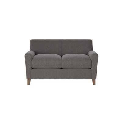 Grayson Loveseat Body Fabric: Lizzy Graphite