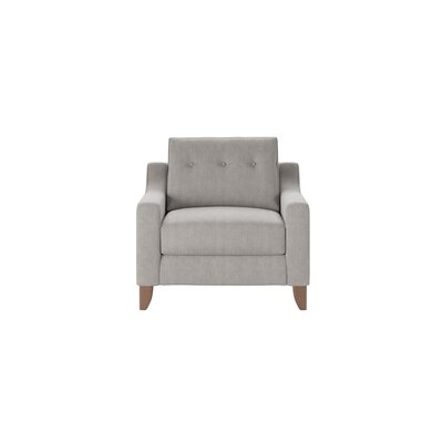 Logan Armchair Body Fabric: Hanover Concrete