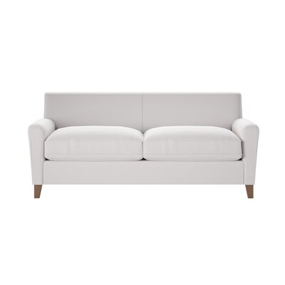 Grayson Sofa Body Fabric: Classic Bleach White