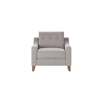 Logan Armchair Body Fabric: Curious Silver