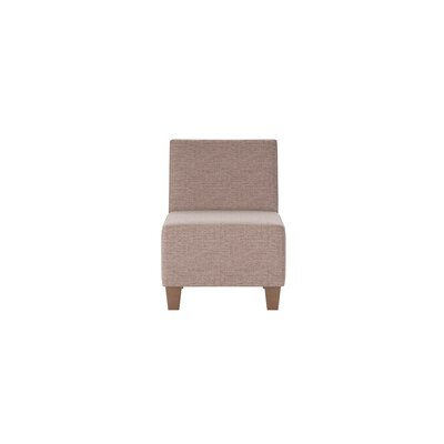 Jessalyn Slipper Chair Body Fabric: Shack Cocoa