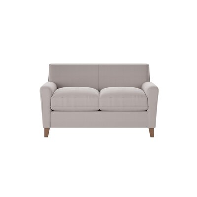 Grayson Loveseat Body Fabric: Spinnsol Greystone