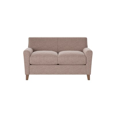 Grayson Loveseat Body Fabric: Shack Cocoa