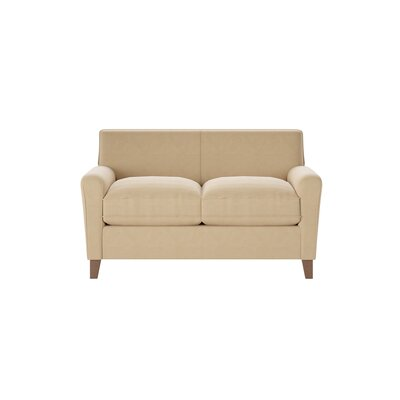 Grayson Loveseat Body Fabric: Godiva Lichen