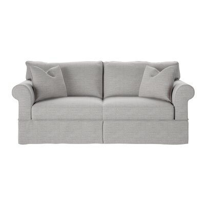 Felicity Sofa Body Fabric: Pebble Greystone