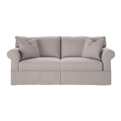 Felicity Sofa Body Fabric: Spinnsol Greystone